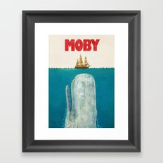 Moby  Framed Art Print