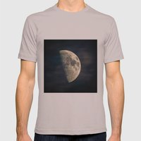 half moon Mens Fitted Tee Cinder SMALL