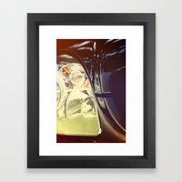 Vintage Car Photo Framed Art Print