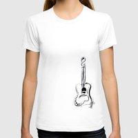 guitar T-shirts featuring guitar by thecellardoor