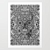 Skull VII Art Print
