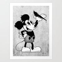 Epic Mickey Art Print