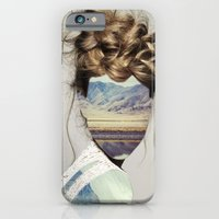 iPhone Cases featuring Haircut 1 by Erin Case