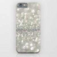 silver sparkle iPhone 6 Slim Case