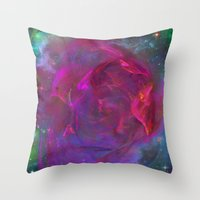 Cosmic Storm Throw Pillow
