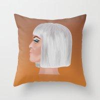 Katy P 2 Throw Pillow