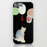 Japanese Cats Series - Paper Lanterns iPhone 6 Slim Case