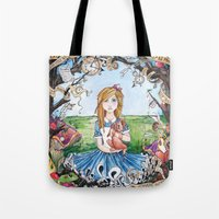 Just Ask Alice ..... Tote Bag