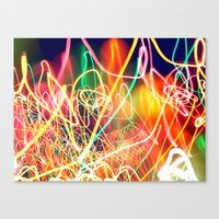 Sea Of Lights Canvas Print