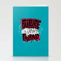 Failure is your Friend Stationery Cards