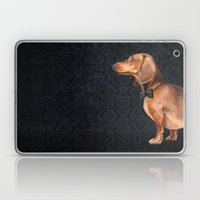 Portrait Of An Elegant D… Laptop & iPad Skin