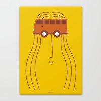 HIPPIE Canvas Print