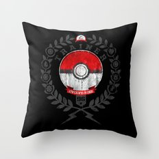 PokéTrainer Throw Pillow