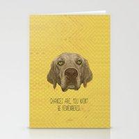 Golden Lab Print Stationery Cards