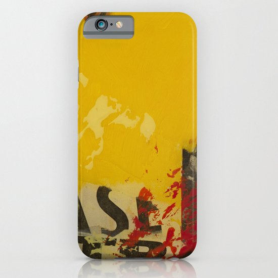 YELLOW3 iPhone & iPod Case