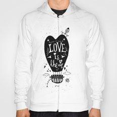 LOVE IS IN THE AIR Hoody