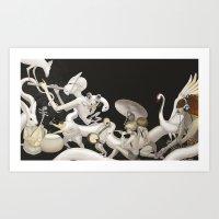 Matsuri (Festival) Art Print