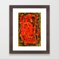 The Casso Framed Art Print