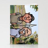 Eighteenth Hole Stationery Cards