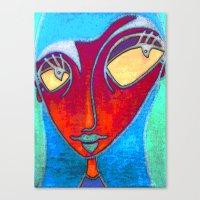 MATA HARI Canvas Print