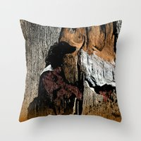 The Little Old Hunter -s… Throw Pillow