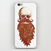 Beard Skull 2 iPhone & iPod Skin