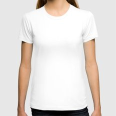 The Cave Womens Fitted Tee White SMALL