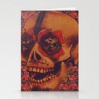 Skulled Stationery Cards
