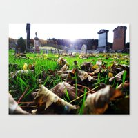 Final Rest Canvas Print