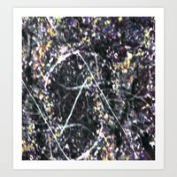 BRAMBLES Art Print