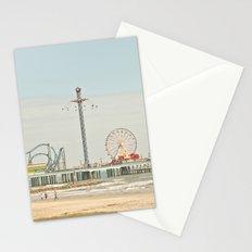 Pleasure Pier Galveston Fun Stationery Cards