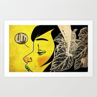 Yellow Pleasure Art Print