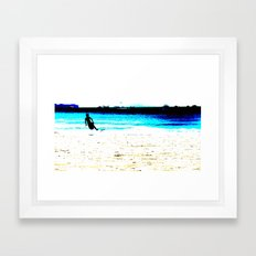 Surf Framed Art Print