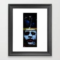 WHY SO SERIOUS Framed Art Print