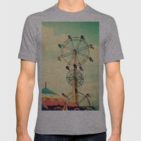 Get your ticket to ride. Mens Fitted Tee Athletic Grey SMALL