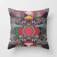 AFRICAN MOTIF  Throw Pillow
