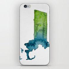 Massachusetts Watercolor iPhone & iPod Skin