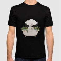 Hydra Black SMALL Mens Fitted Tee