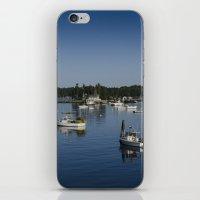 Boothbay Harbor iPhone & iPod Skin