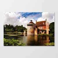 Scotney Castle Canvas Print