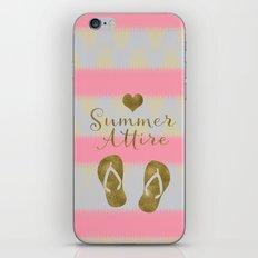 Summer Attire is Flip Flops iPhone & iPod Skin