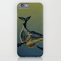 iPhone & iPod Case featuring Lone Whale  by Leanna Rosengren