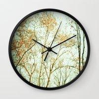 Overhead Wall Clock