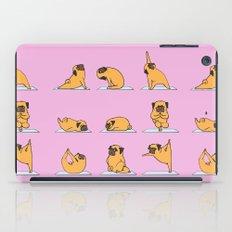 Pug Yoga // Pink iPad Case