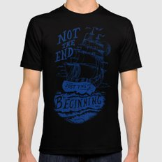 Beginning SMALL Mens Fitted Tee Black