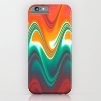 iPhone & iPod Case featuring RainbowVibration by Françoise Reina
