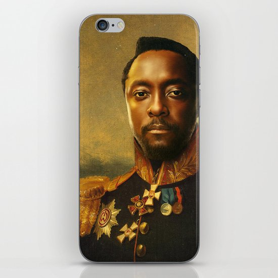 will.i.am - replaceface iPhone & iPod Skin