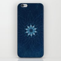 Crystal Flower Mandala iPhone & iPod Skin