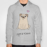 Pugs And Kisses Hoody
