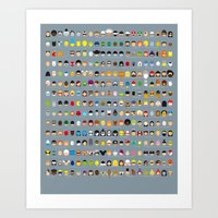Famous Capsules - The Big One Art Print